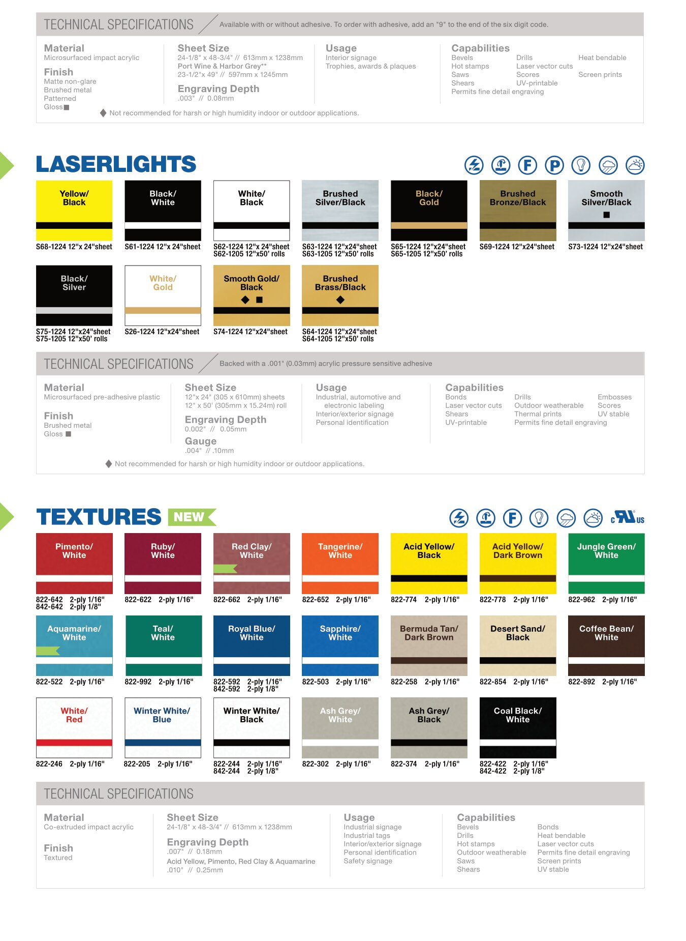Rowmark-ColorChart-Textures image